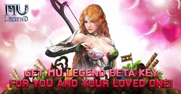 WEBZEN & MU Legend blow out Valentines Day with beta key giveaway