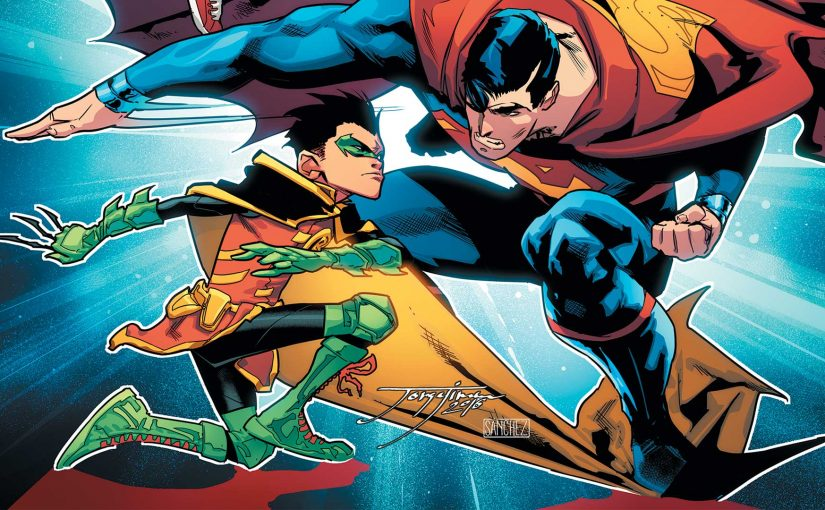Review – Super Sons Rebrith #3 :When I Grow Up… Part Three: Sibling Rivalry